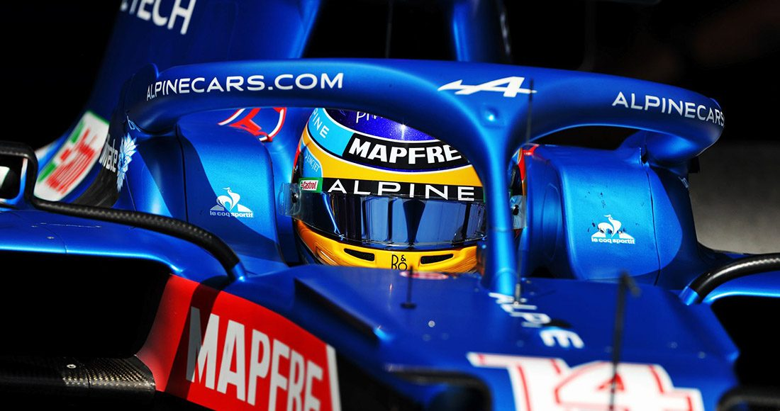 Fernando Alonso, VN Francuske 2021.