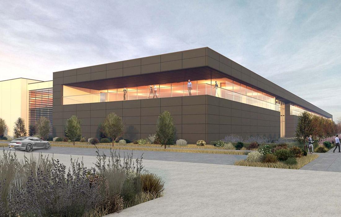 Aston Martin - nova fabrika