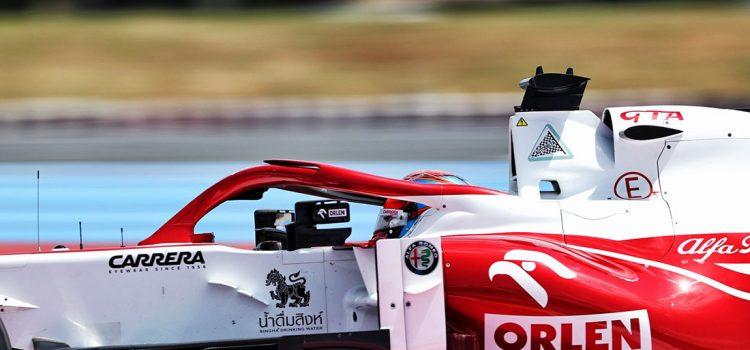 Kimi Raikkonen, VN Francuske 2021.