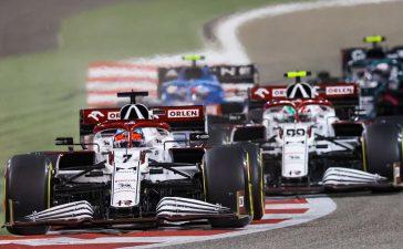 Kimi Raikkonen i Antonio Giovinazzi