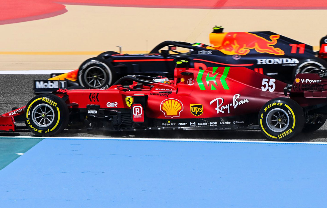 Carlos Sainz i Sergio Perez