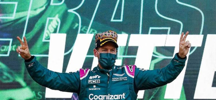 Sebastian Vettel, Baku 2021