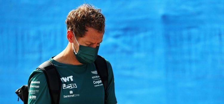 Sebastian Vettel, VN Francuske 2021.