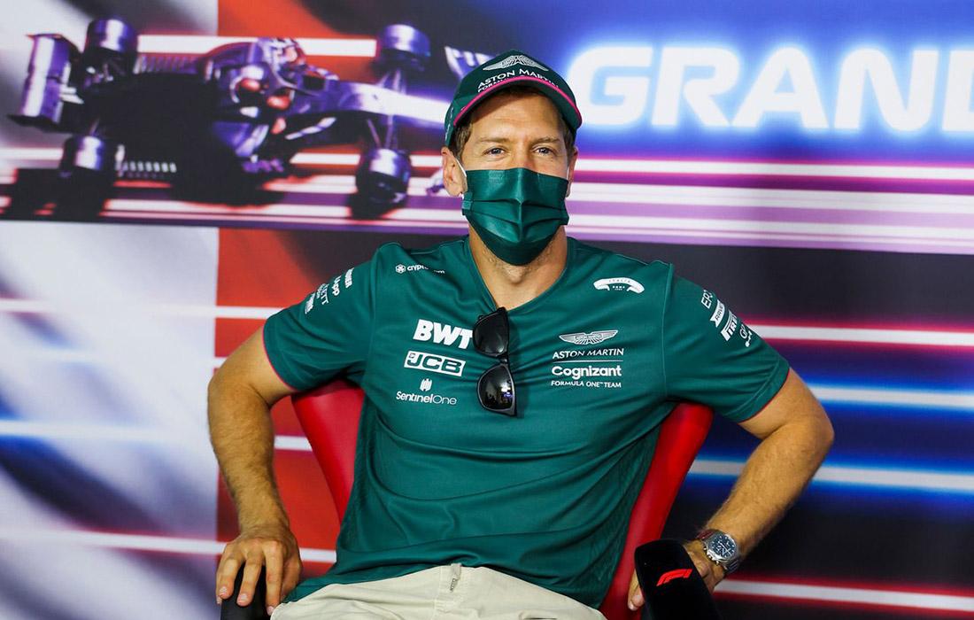 Sebastian Vettel - pres. VN Francuske 2021.