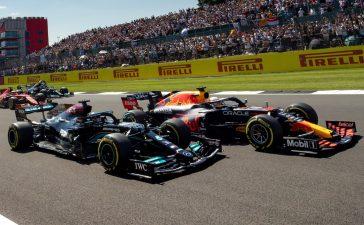 Lewis Hamilton i Max Verstapen