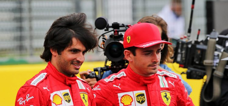 Carlos Sainz i Charles Leclerc