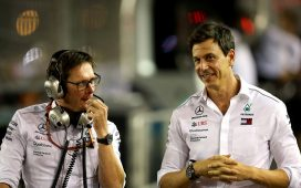 Andrew Shovlin i Toto Wolff