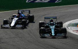 George Russell i Sebastian Vettel
