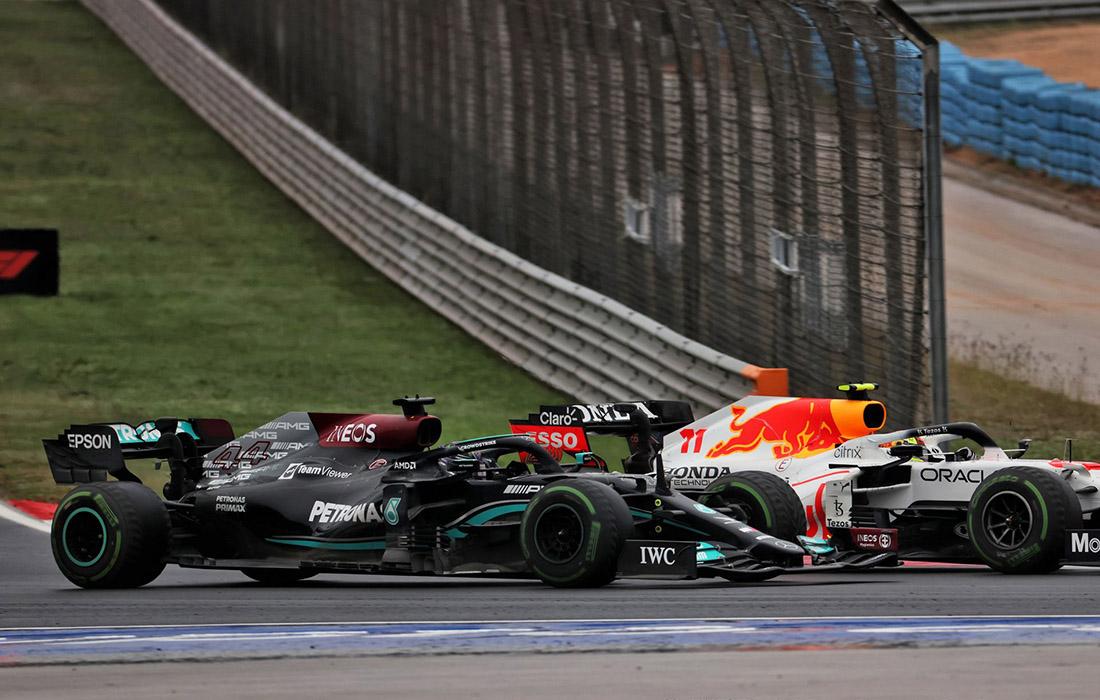Lewis Hamilton i Sergio Perez